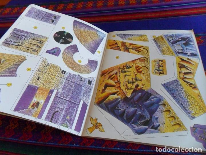 Coleccionismo Recortables: MAQUETAS RECORTABLES Nº 10 CONSTRUYE ESTE CASTILLO DEL MAGO. SUSAETA 1991. BE. RARO. - Foto 2 - 61822080