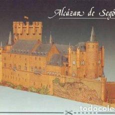 Coleccionismo Recortables: ALCAZAR DE SEGOVIA. RECORTABLE, ESCALA 1:200, MODELO TERMINADO: 82X37X27, Nº PIEZAS: 447.. Lote 62182360