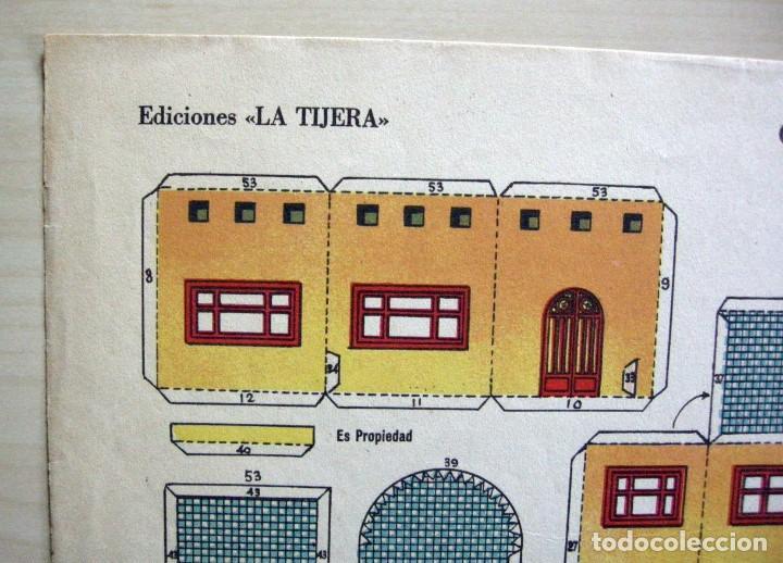 Coleccionismo Recortables: CHALET ULTRAMODERNO - Recortables La Tijera - Serie Imperio (29x40 cm) nº 16 - Foto 2 - 62737368