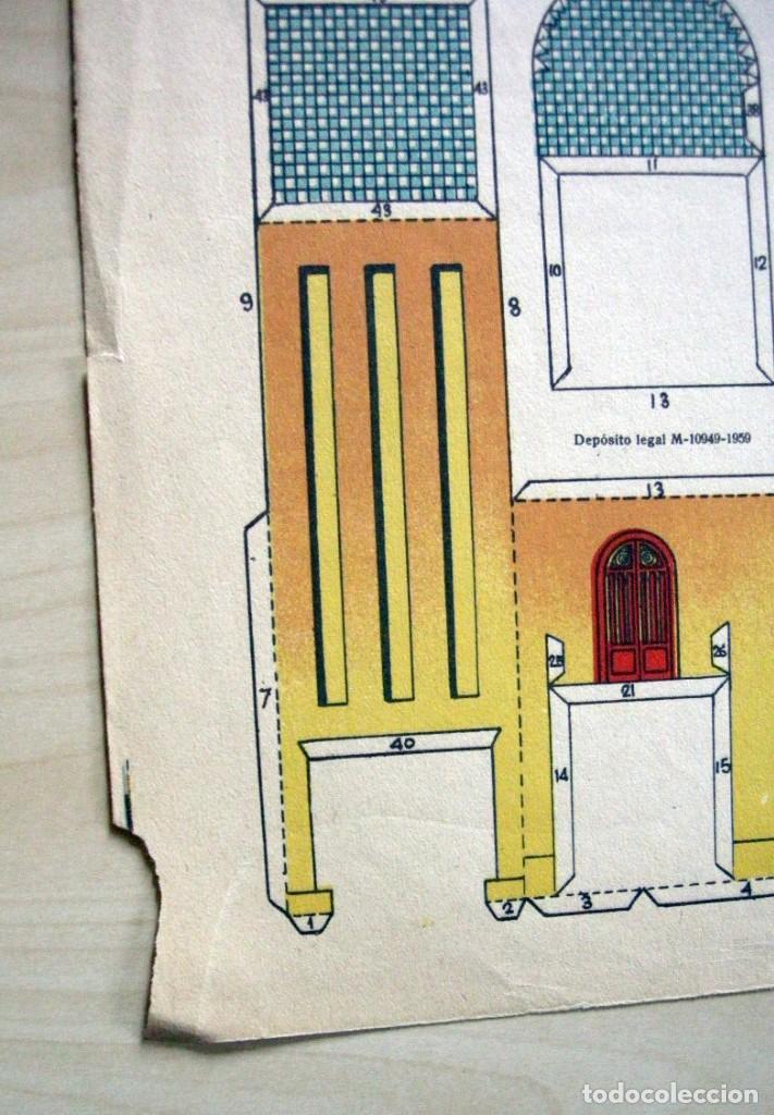 Coleccionismo Recortables: CHALET ULTRAMODERNO - Recortables La Tijera - Serie Imperio (29x40 cm) nº 16 - Foto 6 - 62737368