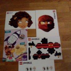 Coleccionismo Recortables: LOTE FICHAS RECORTABLES LEGO . Lote 64498867