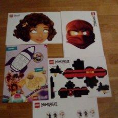 Coleccionismo Recortables: LOTE DE FICHAS RECORTABLES LEGO. Lote 64499002