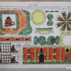 Coleccionismo Recortables: RECORTABLE EDICIONES LA TIJERA. CASA TURCA. SERIE 10, Nº 202. EN PERFECTO ESTADO. Lote 68976649