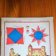 Coleccionismo Recortables: LIBRO RECORTABLE CONSTRUCCIONES CON CUERPOS GEOMETRICO, 2º CUADERNO. CALLEJA. 1929. Lote 77791741