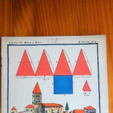 Coleccionismo Recortables: LIBRO RECORTABLE CONSTRUCCIONES CON CUERPOS GEOMETRICO, 1º CUADERNO. CALLEJA. 1929. Lote 77792245
