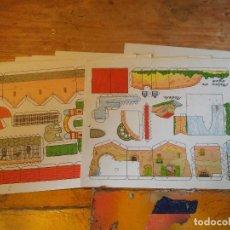 Coleccionismo Recortables: 12 RECORTABLES DE EDITORIAL ROMA- CHIQUI- CASAS. Lote 81123632