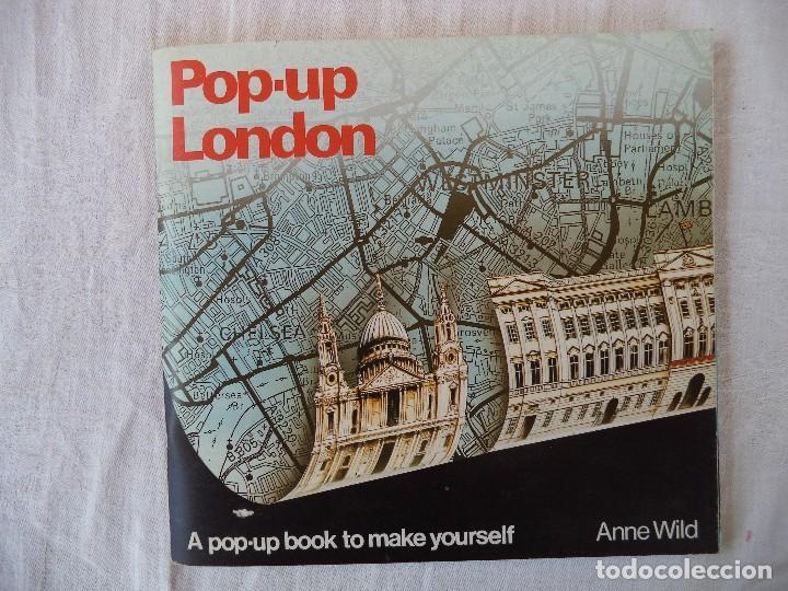 RECORTABLE.LONDRES.CONSTRUYE UN POP-UP (Coleccionismo - Recortables - Construcciones)