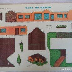 Coleccionismo Recortables: RECORTABLES EVA.CASA DE CAMPO Nº 1301. Lote 84490688