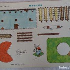 Coleccionismo Recortables: RECORTABLES EVA. 1304 MOLINO. Lote 84491380