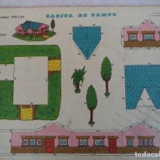 Coleccionismo Recortables: RECORTABLES EVA 1310.CASITA DE CAMPO. Lote 84491676
