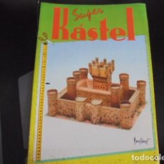 Coleccionismo Recortables: SUPER KASTEL CASTILLO MEDIEVAL - MORENO FLOREZ - Nº 2 CON BEL 1990 - SIN USAR JAMAS !!!. Lote 88738660