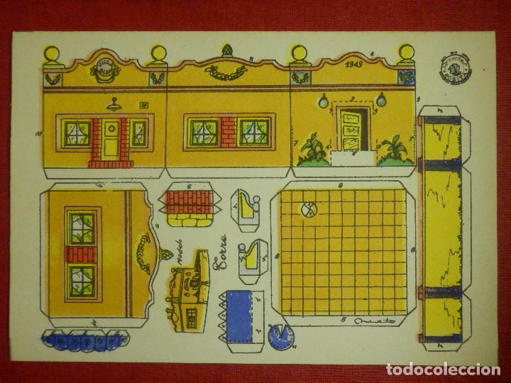 RECORTABLE - TORRE - RECORTES ROSITA - MODELO Nº 11 - EDITORIAL ROMA - (Coleccionismo - Recortables - Construcciones)