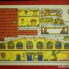 Coleccionismo Recortables: RECORTABLE - CASA CAMPO - RECORTES ROSITA - MODELO Nº 2 - EDITORIAL ROMA -. Lote 89559904