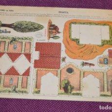 Coleccionismo Recortables: LAMINA RECORTABLE LA TIJERA - ERMITA - SERIE 10 Nº 76 - RECORTABLE CONSTRUCCIÓN - HAZ OFERTA. Lote 91579290