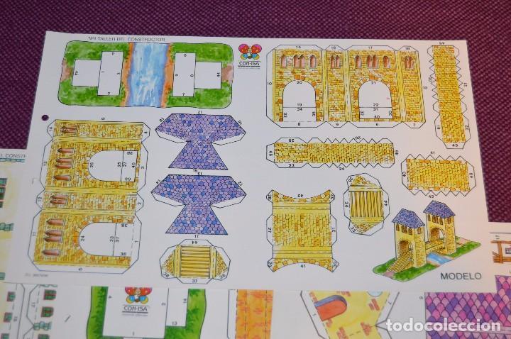 Coleccionismo Recortables: 5 RECORTABLES INFANTILES - TALLER DEL CONSTRUCTOR - CON-ISA - RECORTABLE CONSTRUCCIÓN - HAZ OFERTA - Foto 3 - 91579535