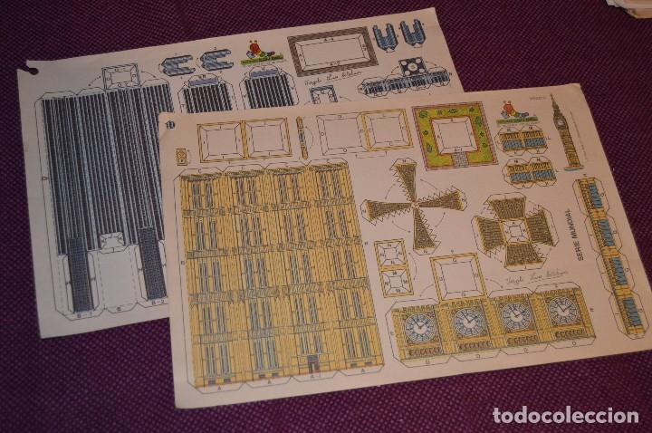 2 RECORTABLES - VIRGILIO LUIS ESTEBAN - EDICIONES CON-BEL - RECORTABLE CONSTRUCCIÓN - HAZ OFERTA (Coleccionismo - Recortables - Construcciones)