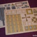 Coleccionismo Recortables: 2 RECORTABLES - VIRGILIO LUIS ESTEBAN - EDICIONES CON-BEL - RECORTABLE CONSTRUCCIÓN - HAZ OFERTA. Lote 91579675