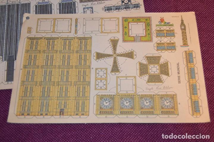 Coleccionismo Recortables: 2 RECORTABLES - VIRGILIO LUIS ESTEBAN - EDICIONES CON-BEL - RECORTABLE CONSTRUCCIÓN - HAZ OFERTA - Foto 2 - 91579675