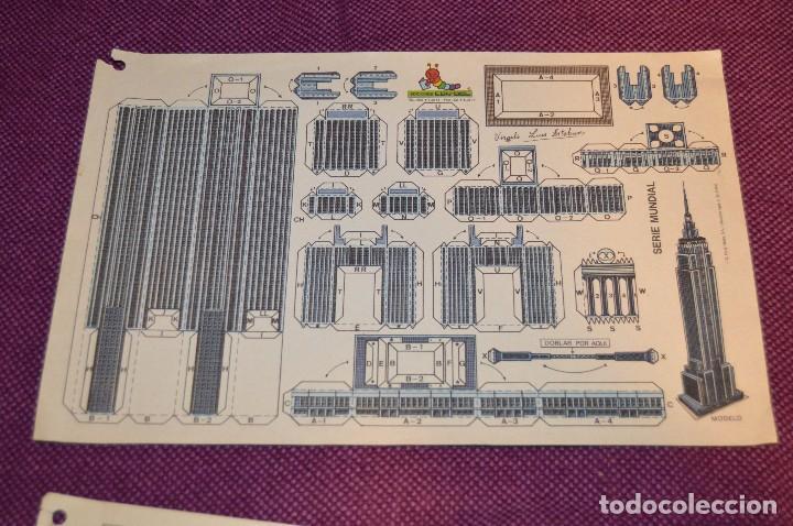 Coleccionismo Recortables: 2 RECORTABLES - VIRGILIO LUIS ESTEBAN - EDICIONES CON-BEL - RECORTABLE CONSTRUCCIÓN - HAZ OFERTA - Foto 3 - 91579675