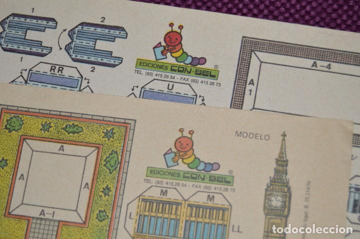 Coleccionismo Recortables: 2 RECORTABLES - VIRGILIO LUIS ESTEBAN - EDICIONES CON-BEL - RECORTABLE CONSTRUCCIÓN - HAZ OFERTA - Foto 4 - 91579675