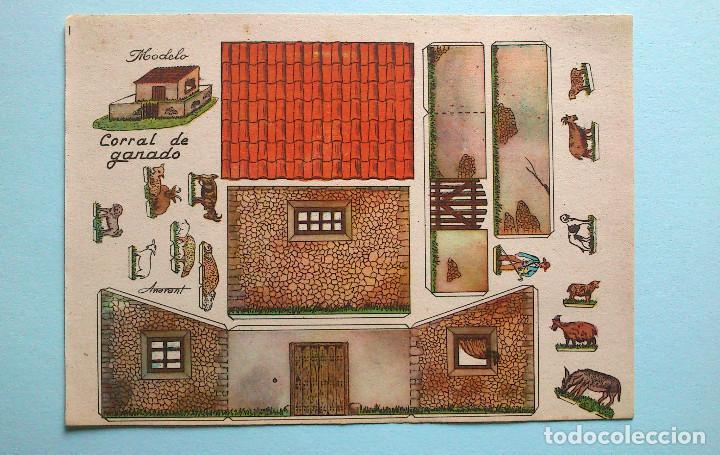 Coleccionismo Recortables: RECORTABLES CONTRUCCIONES - ANARANT - 16 EJEMPLARES DIFERENTES - Foto 14 - 94904351