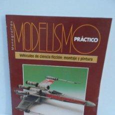 Coleccionismo Recortables: MODELISMO PRACTICO VEHICULOS CIENCIA FICCION : MONTAJE Y PINTURA . Lote 98221691