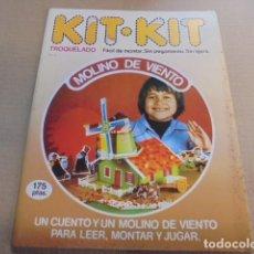Coleccionismo Recortables: KIT KIT 18 / MOLINO DE VIENTO - 1980 - ENVIO GRATIS / JAMAS USADO CUENTO Y CONSTRUCCION. Lote 100007203