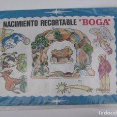 Coleccionismo Recortables: NACIMIENTO RECORTABLE BOGA - NUEVO SIN ABRIR - AÑO 1968. Lote 101081235