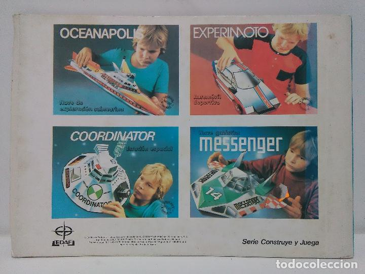 Coleccionismo Recortables: Maqueta estación espacial, Edaf 1985, serie construye y juega, Coordinator - Foto 2 - 102616139