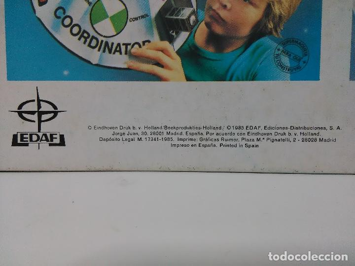 Coleccionismo Recortables: Maqueta estación espacial, Edaf 1985, serie construye y juega, Coordinator - Foto 4 - 102616139