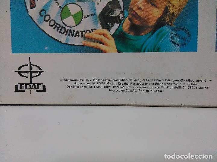 Coleccionismo Recortables: Maqueta automóvil deportivo, Edaf 1985, serie construye y juega. Experimoto - Foto 4 - 213494792