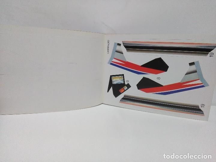 Coleccionismo Recortables: Maqueta automóvil deportivo, Edaf 1985, serie construye y juega. Experimoto - Foto 6 - 213494792