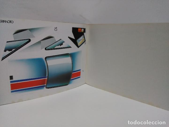 Coleccionismo Recortables: Maqueta automóvil deportivo, Edaf 1985, serie construye y juega. Experimoto - Foto 8 - 213494792
