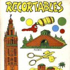 Coleccionismo Recortables: RECORTABLE DE CONSTRUCCIONES: RECORTABLES. PUENTE, LA GIRALDA, CASA ARABE. Lote 106546979