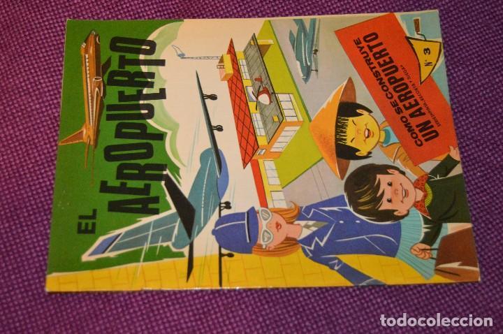 Coleccionismo Recortables: SERIE PINTA, RECORTA Y JUEGA - Nº 3 Y 4 - EL PUERTO Y EL AEROPUERTO - EDICIONES HYMSA SA - HAZ OFERT - Foto 2 - 107453591