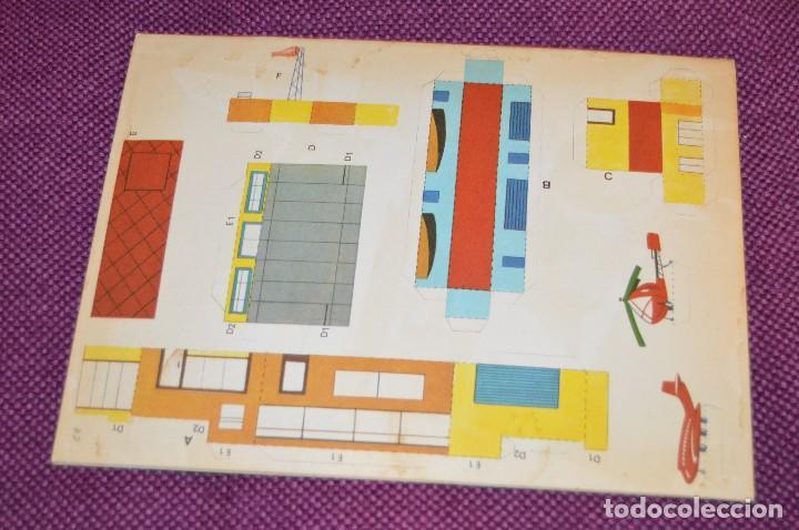 Coleccionismo Recortables: SERIE PINTA, RECORTA Y JUEGA - Nº 3 Y 4 - EL PUERTO Y EL AEROPUERTO - EDICIONES HYMSA SA - HAZ OFERT - Foto 3 - 107453591