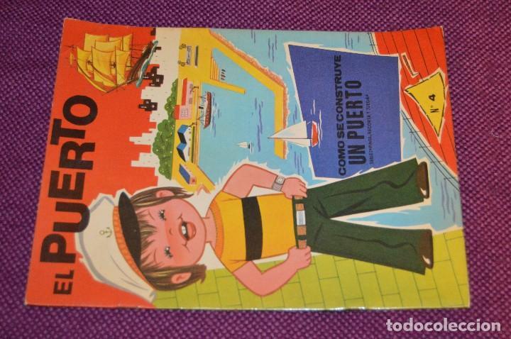 Coleccionismo Recortables: SERIE PINTA, RECORTA Y JUEGA - Nº 3 Y 4 - EL PUERTO Y EL AEROPUERTO - EDICIONES HYMSA SA - HAZ OFERT - Foto 4 - 107453591