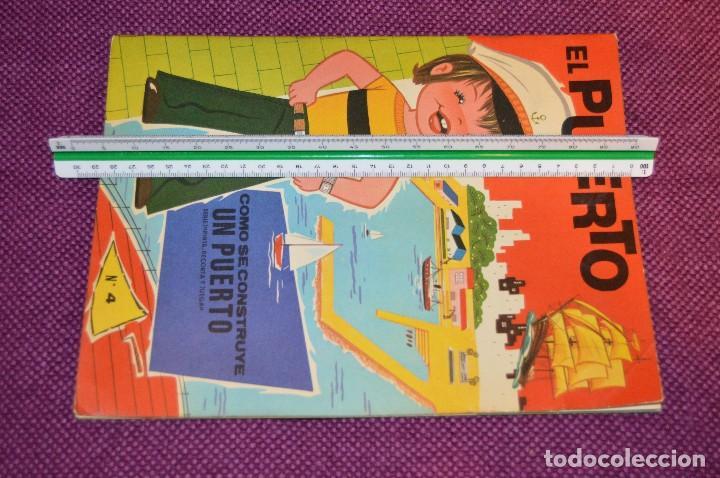 Coleccionismo Recortables: SERIE PINTA, RECORTA Y JUEGA - Nº 3 Y 4 - EL PUERTO Y EL AEROPUERTO - EDICIONES HYMSA SA - HAZ OFERT - Foto 9 - 107453591