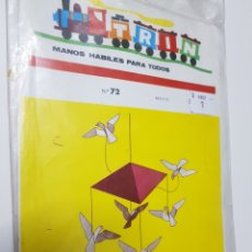 Coleccionismo Recortables: TRIN, MANOS HABILES PARA TODOS Nº 72 - AÑO 1971 - CAR05. Lote 109501087