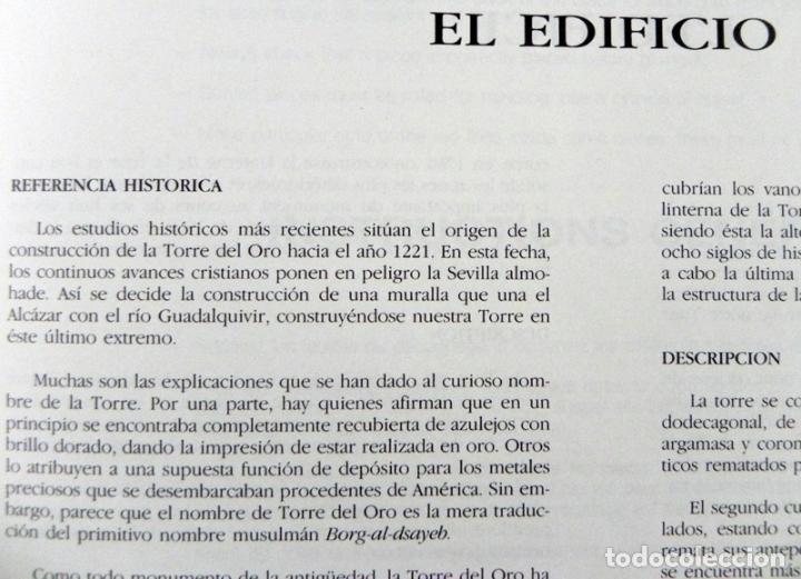 Coleccionismo Recortables: RECORTABLE DE LA TORRE DEL ORO - MONUMENTO SEVILLA - ANDALUCÍA ESPAÑA - MÁS RECORTABLES EN VENTA - Foto 4 - 109574375