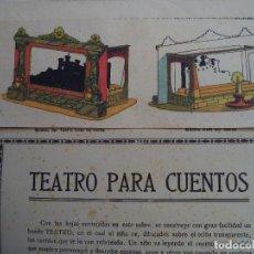 Coleccionismo Recortables: TEATRO PARA CUENTOS.LA TIJERA. Lote 112523235