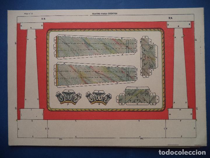 Coleccionismo Recortables: TEATRO PARA CUENTOS.LA TIJERA - Foto 5 - 112523235