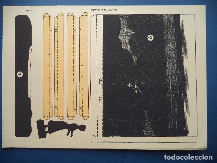 Coleccionismo Recortables: TEATRO PARA CUENTOS.LA TIJERA - Foto 6 - 112523235
