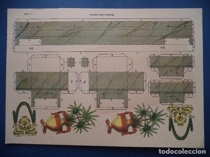 Coleccionismo Recortables: TEATRO PARA CUENTOS.LA TIJERA - Foto 7 - 112523235