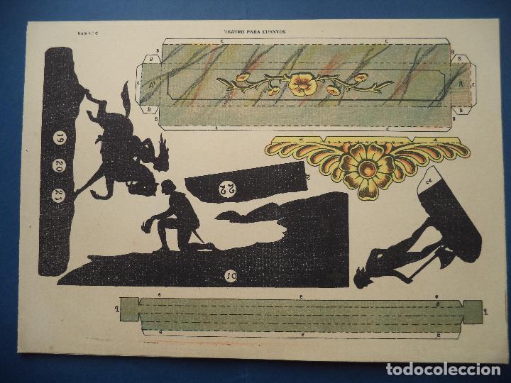 Coleccionismo Recortables: TEATRO PARA CUENTOS.LA TIJERA - Foto 9 - 112523235