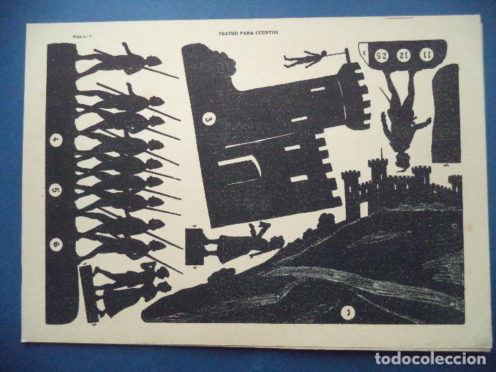 Coleccionismo Recortables: TEATRO PARA CUENTOS.LA TIJERA - Foto 10 - 112523235