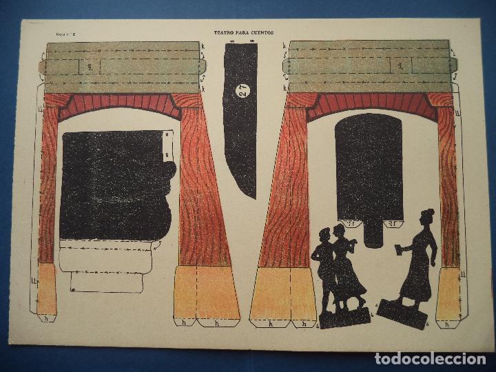 Coleccionismo Recortables: TEATRO PARA CUENTOS.LA TIJERA - Foto 11 - 112523235