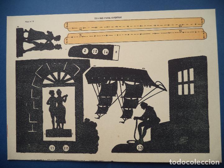 Coleccionismo Recortables: TEATRO PARA CUENTOS.LA TIJERA - Foto 12 - 112523235