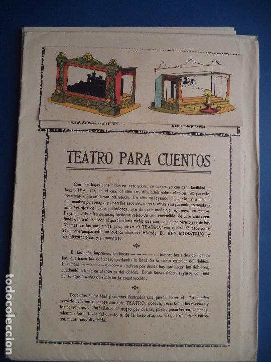 Coleccionismo Recortables: TEATRO PARA CUENTOS.LA TIJERA - Foto 13 - 112523235