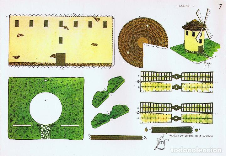 Coleccionismo Recortables: RECORTABLES ZULIA. MANUALIDADES RECREATIVAS 1 A 8. COMPLETA 8 LÁMS ZULIA, S/F. OFRT - Foto 4 - 198462391